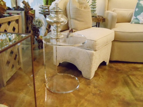 Beautiful Lucite Tables!